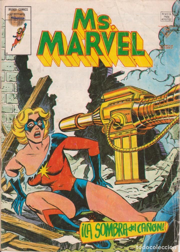 CÓMIC ` MS. MARVEL ´ Nº 9 V.1 ED. VÉRTICE 1978 (Tebeos y Comics - Vértice - V.1)