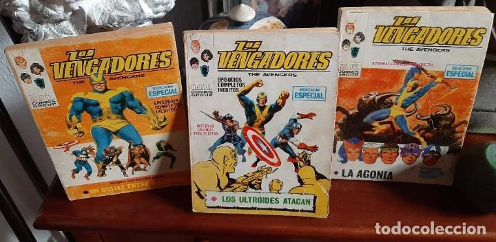 LOS VENGADORES (Tebeos y Comics - Vértice - Vengadores)