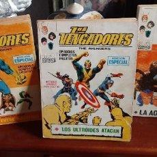 Cómics: LOS VENGADORES. Lote 205551538