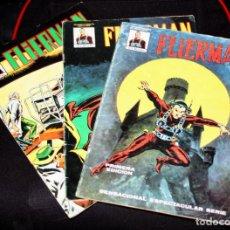 Cómics: FLIERMAN (MUNDI-COMICS) Nº 01 + 02+ 04.(CASI COMPLETA). Lote 205559806