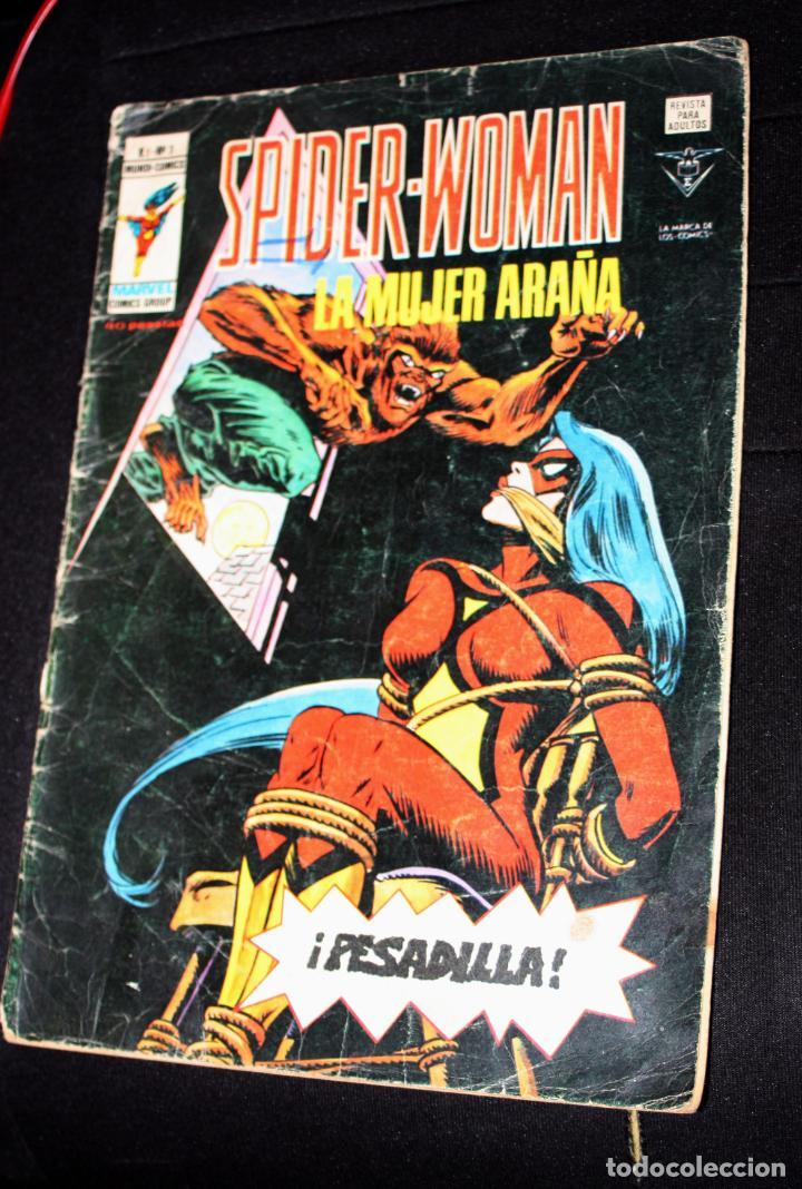 SPIDER-WOMAN (MUNDI-COMICS) VOL.1; Nº 3 (DIFICIL) (Tebeos y Comics - Vértice - Surco / Mundi-Comic)