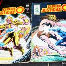 Cómics: CIRCULO JUSTICIERO Nº7 + Nº15. Lote 205561852