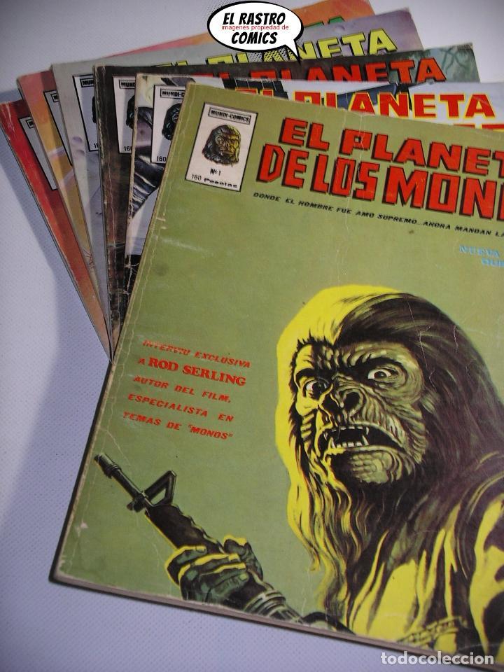 EL PLANETA DE LOS MONOS, COLECCIÓN COMPLETA, ED. VERTICE AÑO 1979, SIMIOS, 3V (Tebeos y Comics - Vértice - Otros)