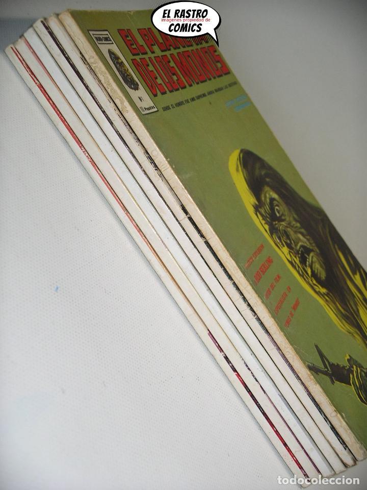 Cómics: El planeta de los monos, Colección completa, ed. Vertice año 1979, simios, 3V - Foto 2 - 139545262