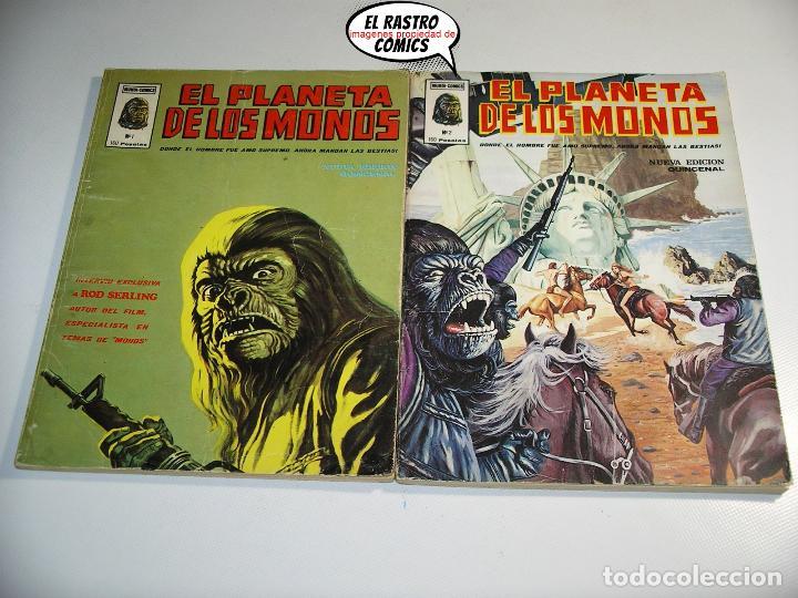 Cómics: El planeta de los monos, Colección completa, ed. Vertice año 1979, simios, 3V - Foto 3 - 139545262