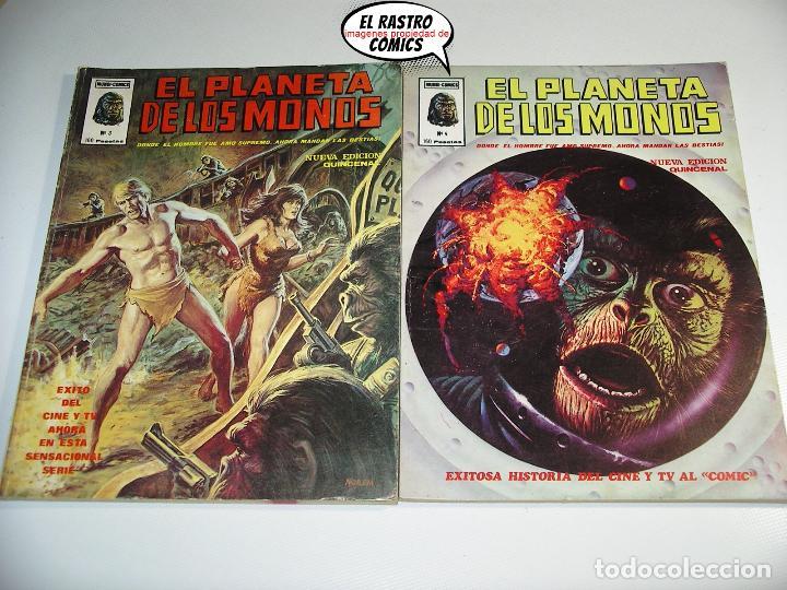 Cómics: El planeta de los monos, Colección completa, ed. Vertice año 1979, simios, 3V - Foto 5 - 139545262