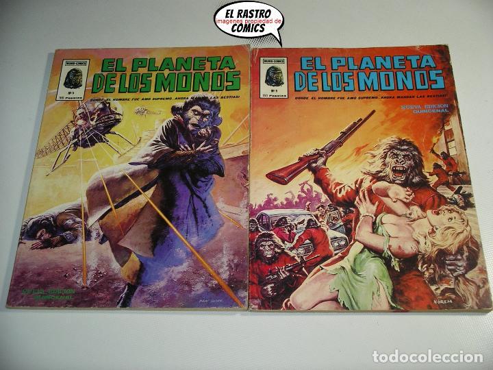 Cómics: El planeta de los monos, Colección completa, ed. Vertice año 1979, simios, 3V - Foto 7 - 139545262