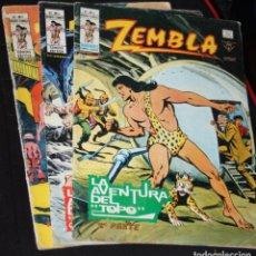 Cómics: ZEMBLA ( MUNDI-COMICS) VOL1 Nº 04,05 Y 06. Lote 205563178