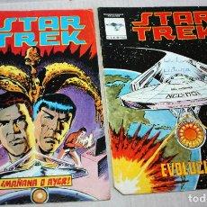 Cómics: STAR TREK ( MUNDI-COMICS) Nº2 + Nº4. Lote 205563745