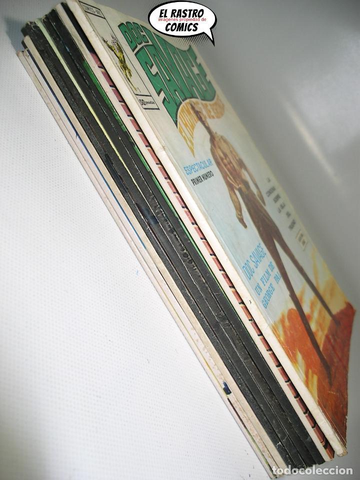 Cómics: Doc Savage, Colección completa, ed. Vertice año 1974, El hombre de bronce, OFERTA!!, 3V - Foto 2 - 205576052