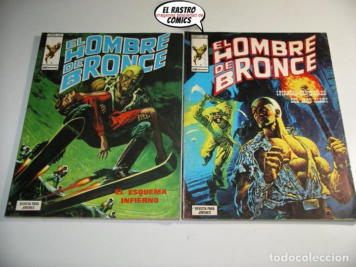 Cómics: Doc Savage, Colección completa, ed. Vertice año 1974, El hombre de bronce, OFERTA!!, 3V - Foto 5 - 205576052
