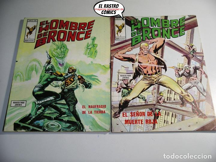Cómics: Doc Savage, Colección completa, ed. Vertice año 1974, El hombre de bronce, OFERTA!!, 3V - Foto 7 - 205576052