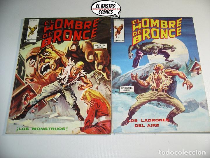 Cómics: Doc Savage, Colección completa, ed. Vertice año 1974, El hombre de bronce, OFERTA!!, 3V - Foto 9 - 205576052