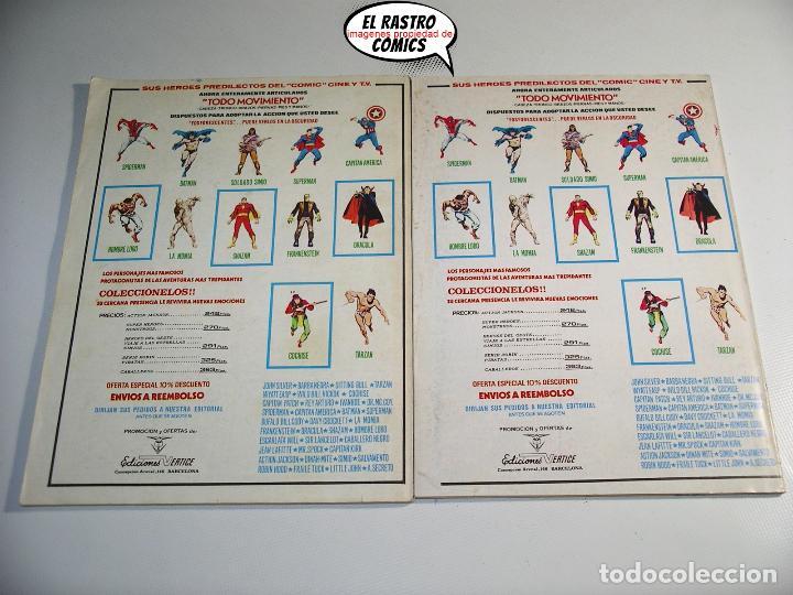 Cómics: Doc Savage, Colección completa, ed. Vertice año 1974, El hombre de bronce, OFERTA!!, 3V - Foto 10 - 205576052