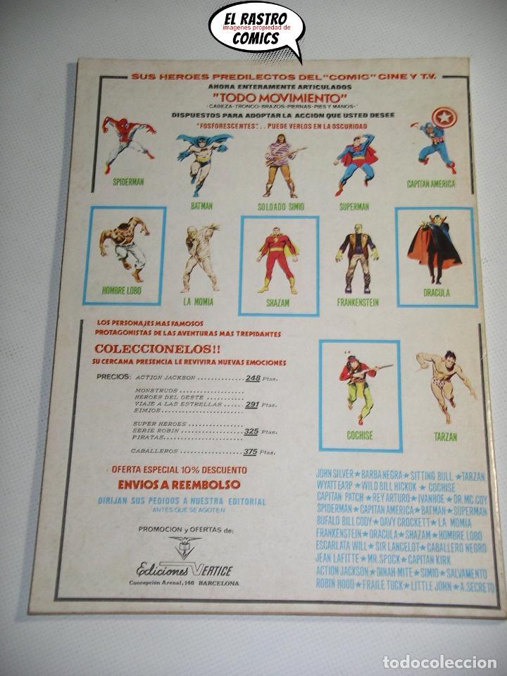 Cómics: Doc Savage, Colección completa, ed. Vertice año 1974, El hombre de bronce, OFERTA!!, 3V - Foto 12 - 205576052