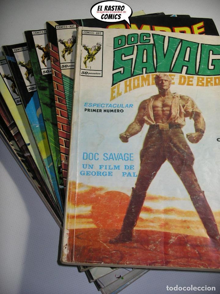 DOC SAVAGE, COLECCIÓN COMPLETA, ED. VERTICE AÑO 1974, EL HOMBRE DE BRONCE, OFERTA!!, 3V (Tebeos y Comics - Vértice - Otros)