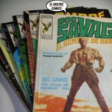 Cómics: DOC SAVAGE, COLECCIÓN COMPLETA, ED. VERTICE AÑO 1974, EL HOMBRE DE BRONCE, 3V. Lote 205576052