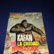 Cómics: VERTICE GRAPA Nº 9: MYTEK EL PODEROSO: KAFAN EN LA CIUDAD NUCLEAR. Lote 205587067