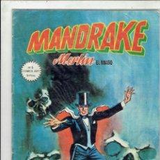 Cómics: MANDRAKE MERLIN EL MAGO N,5 ENEL ORIGEN DE EL COBRA EDICIONES VERTICE. Lote 205649371