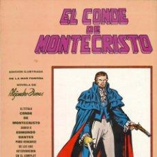 Cómics: MUNDI COMICS CLÁSICOS - EDICIONES VÉRTICE / NÚMERO 1 (EL CONDE DE MONTECRISTO). Lote 205655657