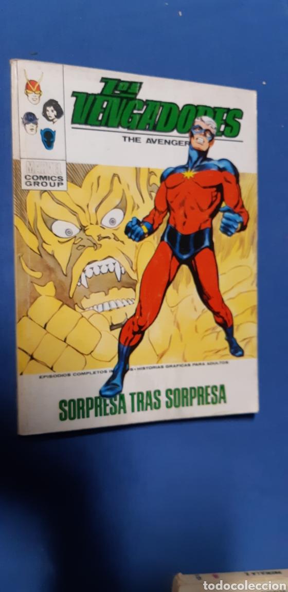 LOS VENGADORES TOMO 43 DE VERTICE COMPLETO Y EN BUEN ESTADO (Tebeos y Comics - Vértice - Vengadores)