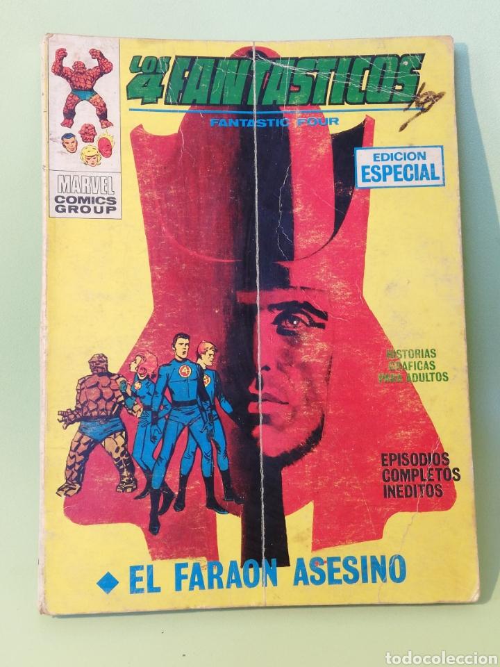 LOS 4 FANTÁSTICOS 10 VOLUMEN 1 COMICS EDITORIAL VÉRTICE 1970 (Tebeos y Comics - Vértice - 4 Fantásticos)