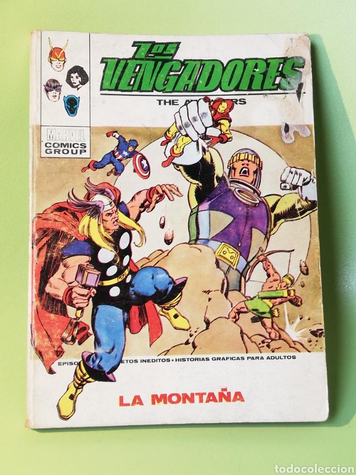 LOS VENGADORES 48 VOLUMEN 1 COMICS EDITORIAL VÉRTICE 1973 (Tebeos y Comics - Vértice - Vengadores)