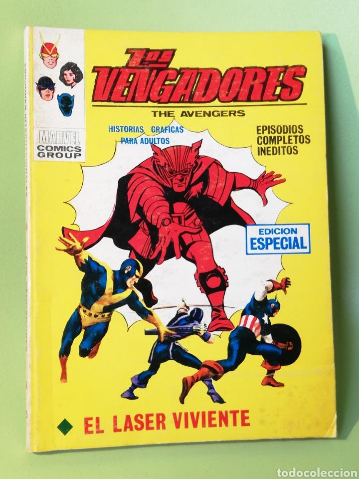 LOS VENGADORES 15 VOLUMEN 1 COMICS EDITORIAL VÉRTICE 1970 (Tebeos y Comics - Vértice - Vengadores)