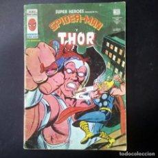 Cómics: VÉRTICE VOL. 2 SUPER HÉROES Nº 97 CON SPIDERMAN Y THOR. 40 PTS. 1979.. Lote 205714813