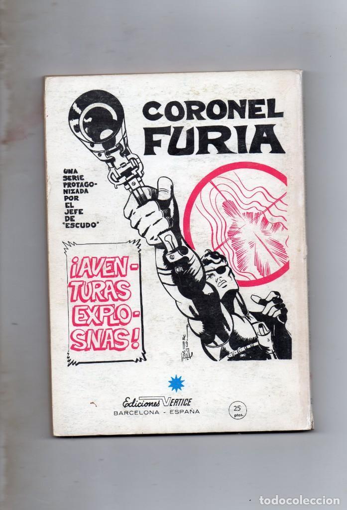Cómics: COMIC VERTICE 1972 LOS VENGADORES VOL1 Nº 21 (LEER) - Foto 2 - 205764586