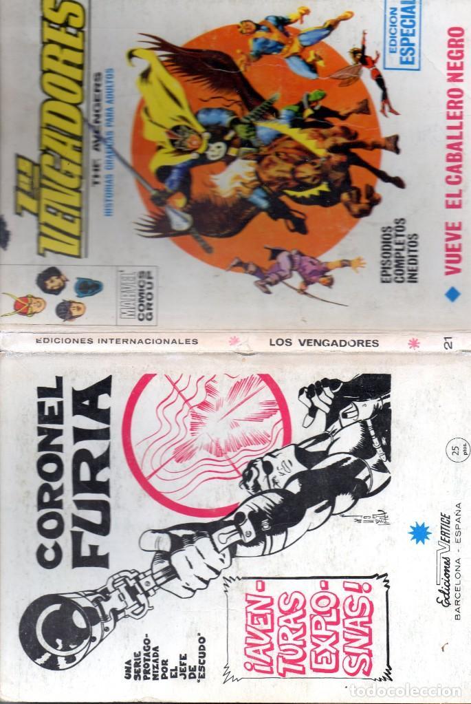 Cómics: COMIC VERTICE 1972 LOS VENGADORES VOL1 Nº 21 (LEER) - Foto 3 - 205764586