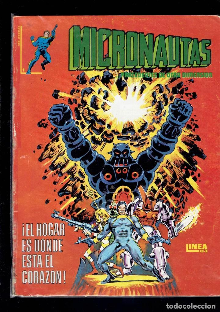 LOTE DEL 1 AL 5 MICRONAUTAS EDICIONES SURCO LINEA 83 (Tebeos y Comics - Vértice - Surco / Mundi-Comic)