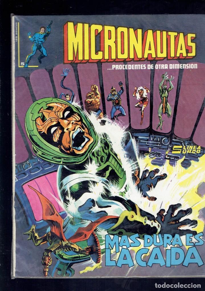 Cómics: LOTE DEL 1 AL 5 MICRONAUTAS EDICIONES SURCO LINEA 83 - Foto 5 - 205783672
