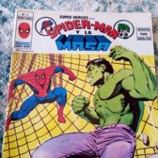 Comics: SUPER HÉROES NÚM 9. SPIDERMAN Y LA MASA. VÉRTICE. Lote 205832752