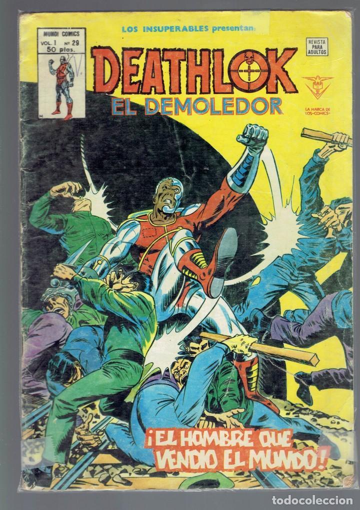 LOS INSUPERABLES PRESENTAN DEATHLOK EL DEMOLEDOR VOL.1, N,29,30 MUNDI COMICS 2 COMICS (Tebeos y Comics - Vértice - Surco / Mundi-Comic)