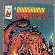 Cómics: EL DINOSAURIO DIABOLICO N,1 Y 2, VOL.1 MUNDI COMICS EN GIGANTE Y MUCHACHO LUNA. Lote 205873210