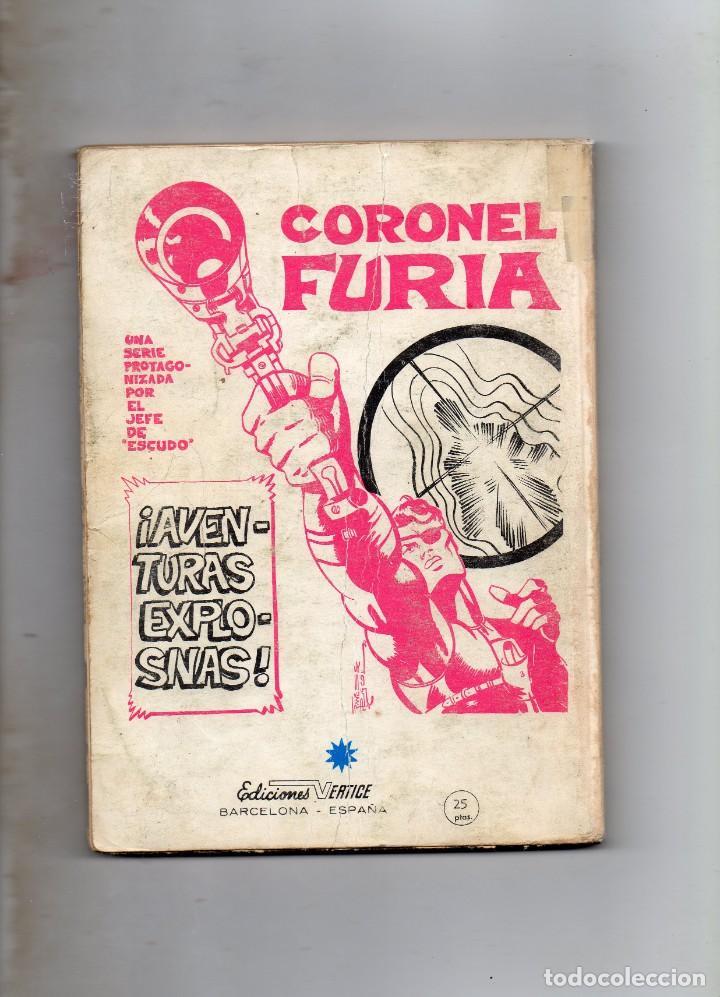 Cómics: COMIC VERTICE 1971 LOS VENGADORES VOL1 Nº 20 (NORMAL ESTADO) - Foto 2 - 206134288
