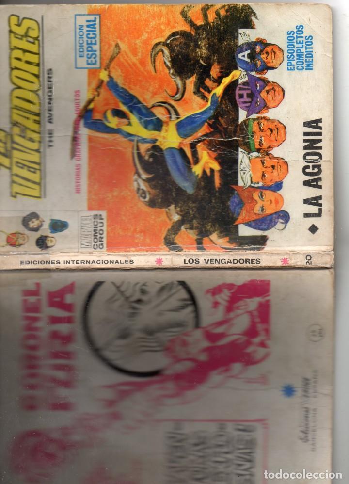 Cómics: COMIC VERTICE 1971 LOS VENGADORES VOL1 Nº 20 (NORMAL ESTADO) - Foto 3 - 206134288