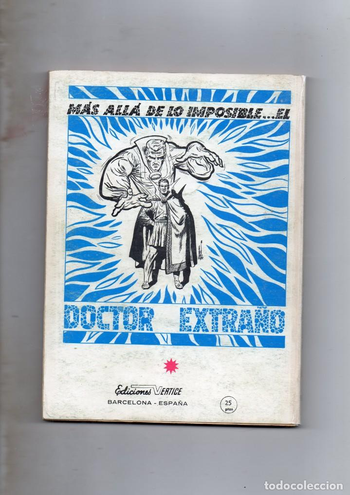 Cómics: COMIC VERTICE 1971 LOS VENGADORES VOL1 Nº 19 ( BUEN ESTADO ) - Foto 2 - 206193943