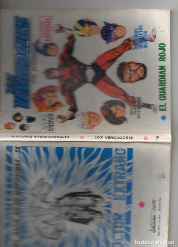 Cómics: COMIC VERTICE 1971 LOS VENGADORES VOL1 Nº 19 ( BUEN ESTADO ) - Foto 3 - 206193943