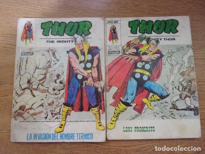 EDICIONES INTERNACIONALES - THOR - LOTE DE 2 NUMEROS VERTICE. (Tebeos y Comics - Vértice - Thor)