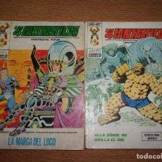 Comics : EDICIONES INTERNACIONALES - LOS 4 FANTASTICOS - LOTE DE 2 NUMEROS VERTICE.. Lote 206242748