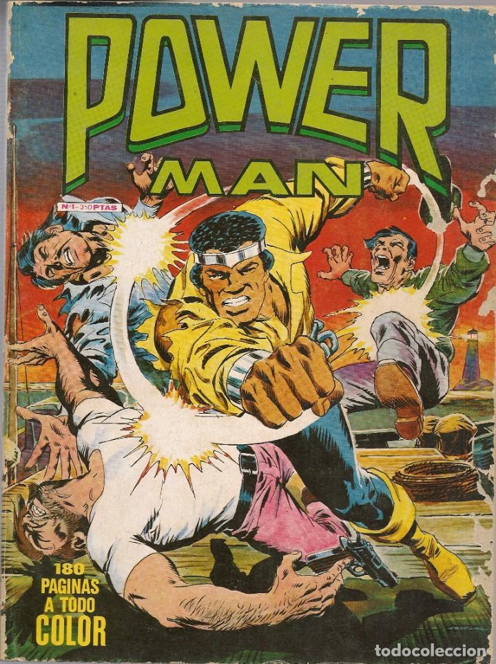 POWERMAN RETAPADO #1 MUNDICOMIC (Tebeos y Comics - Vértice - Surco / Mundi-Comic)