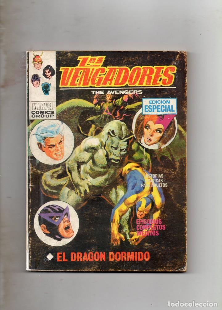 COMIC VERTICE 1970 LOS VENGADORES VOL1 Nº 18 ( BUEN ESTADO ) (Tebeos y Comics - Vértice - V.1)