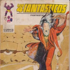 """Cómics: CÓMIC VÉRTICE V.1 """" LOS 4 FANTÁSTICOS """" Nº 55 VOL.1 MARVEL FANTASTIC FOUR (TACO) 1972. Lote 206347963"""