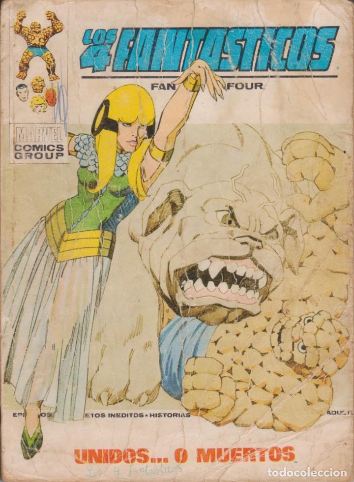 """CÓMIC VÉRTICE V.1 """" LOS 4 FANTÁSTICOS """" Nº 59 VOL.1 MARVEL FANTASTIC FOUR (TACO) 1972 (Tebeos y Comics - Vértice - 4 Fantásticos)"""