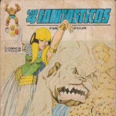 """Cómics: CÓMIC VÉRTICE V.1 """" LOS 4 FANTÁSTICOS """" Nº 59 VOL.1 MARVEL FANTASTIC FOUR (TACO) 1972. Lote 206351173"""