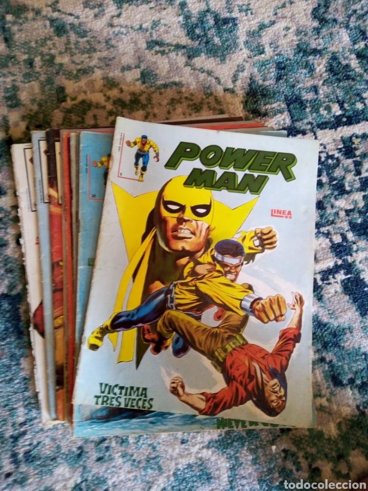 POWERMAN COLECC. COMPLETA 10 UDS. VÉRTICE - SURCO (Tebeos y Comics - Vértice - Surco / Mundi-Comic)