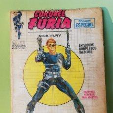 Cómics: CORONEL FURIA 1 VOLUMEN 1 COMICS EDITORIAL VÉRTICE 1970. Lote 206390487