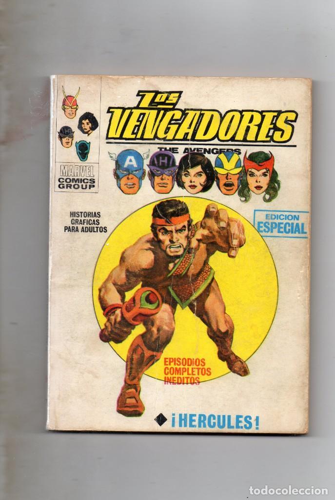 COMIC VERTICE 1970 LOS VENGADORES VOL1 Nº 17 ( BUEN ESTADO ) (Tebeos y Comics - Vértice - Vengadores)
